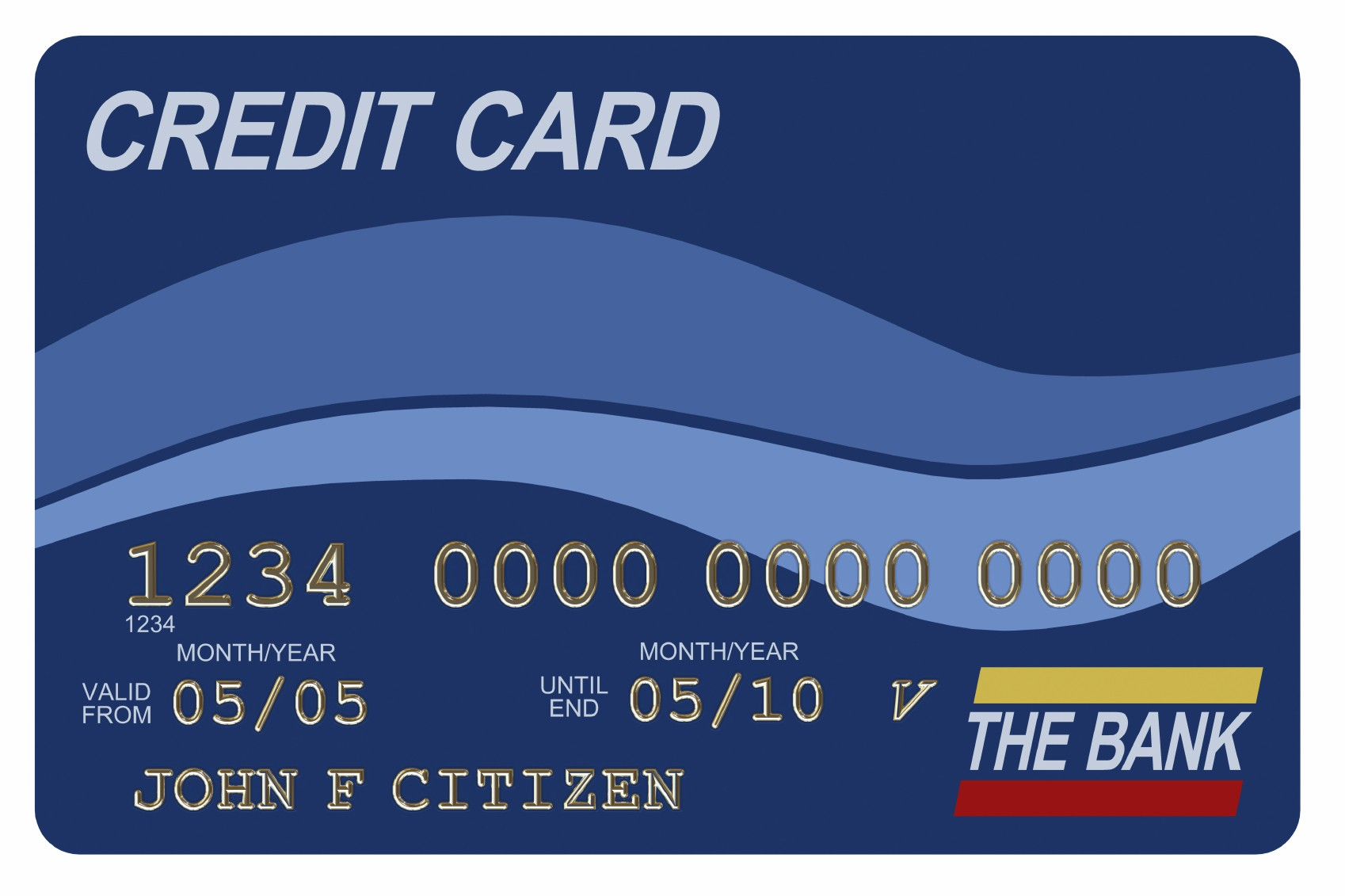 Online credit card approval